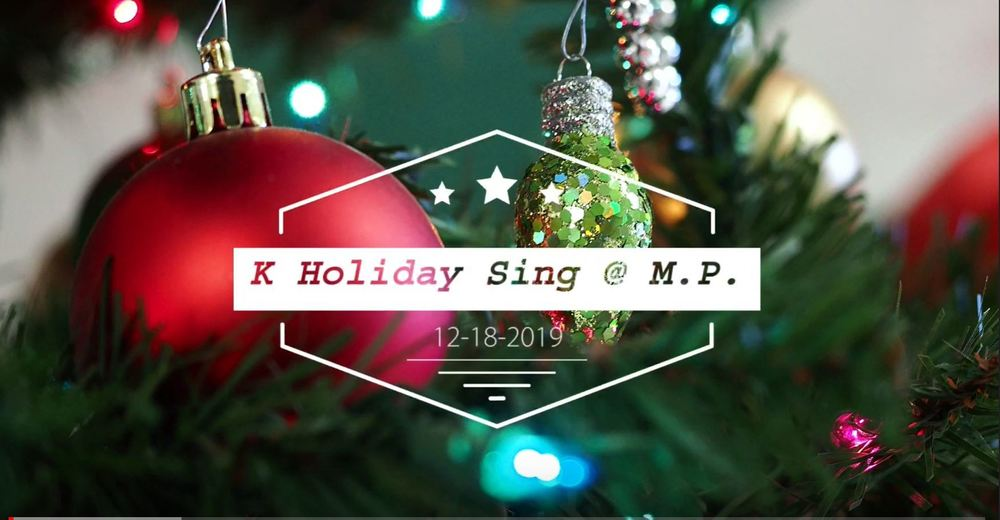 K & 1 Holiday Songs Videos on You Tube Channel