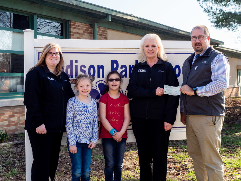 Generous Donation to Madison Park School for Student Milk Program