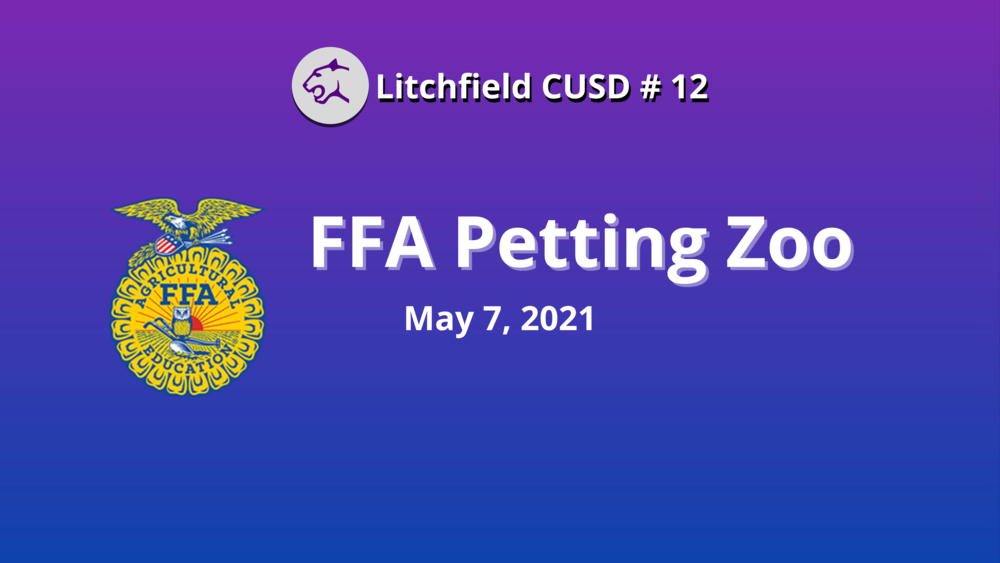 FFA Annual Petting Zoo