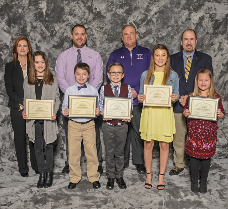 Local Students Honored at March Breakfast for Illinois Principals Association