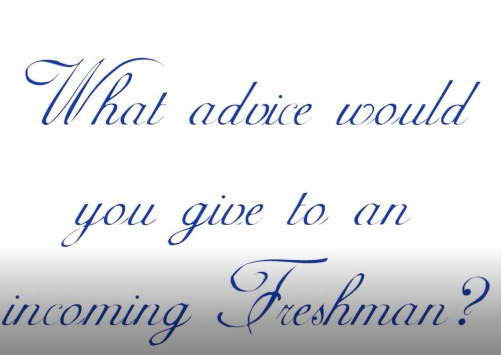 Seniors Class of 2020 Provides Advice for Incoming Freshman Class
