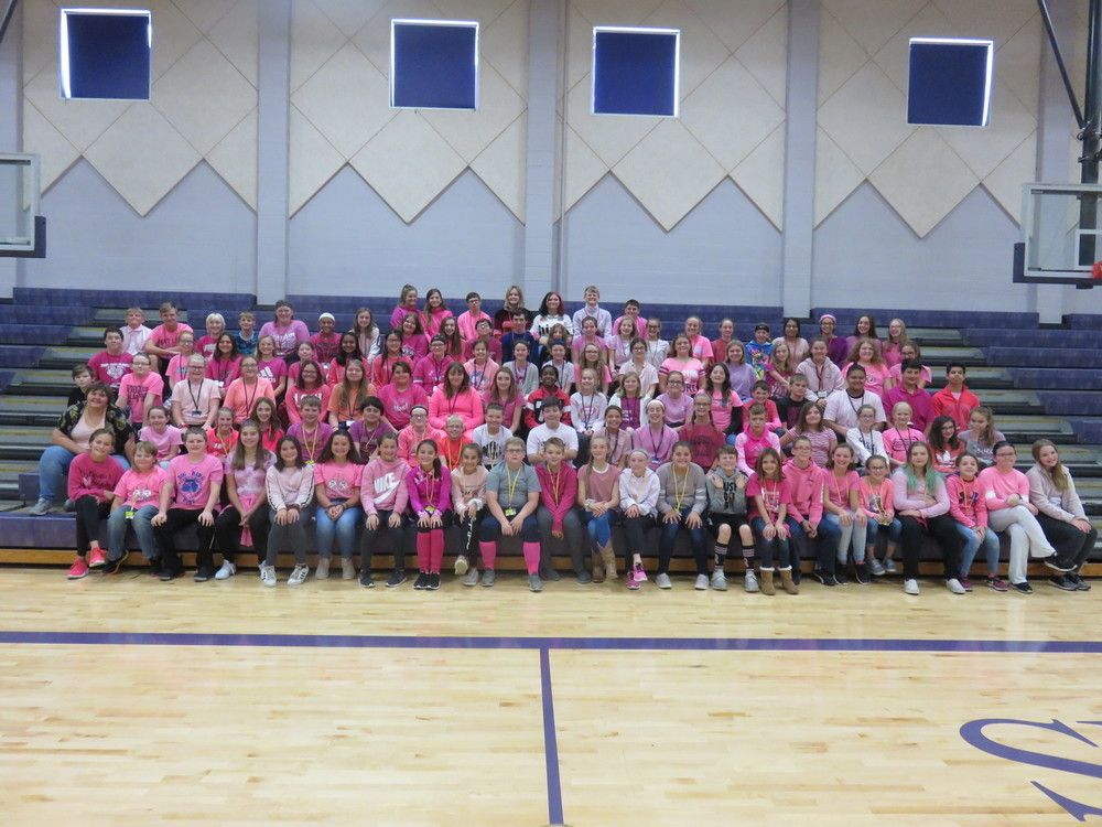 Litchfield Middle School Raises Money for Breast Cancer Awareness