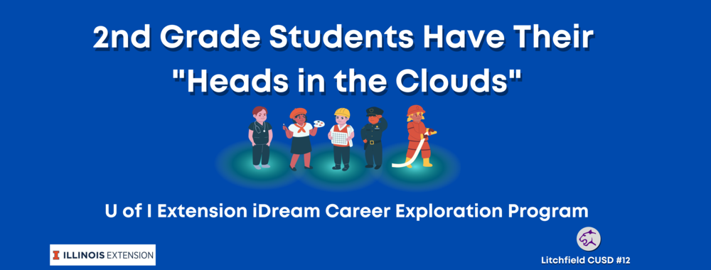 "2nd Graders Have their ""Heads in the Clouds"" With iDream Career Lesson"