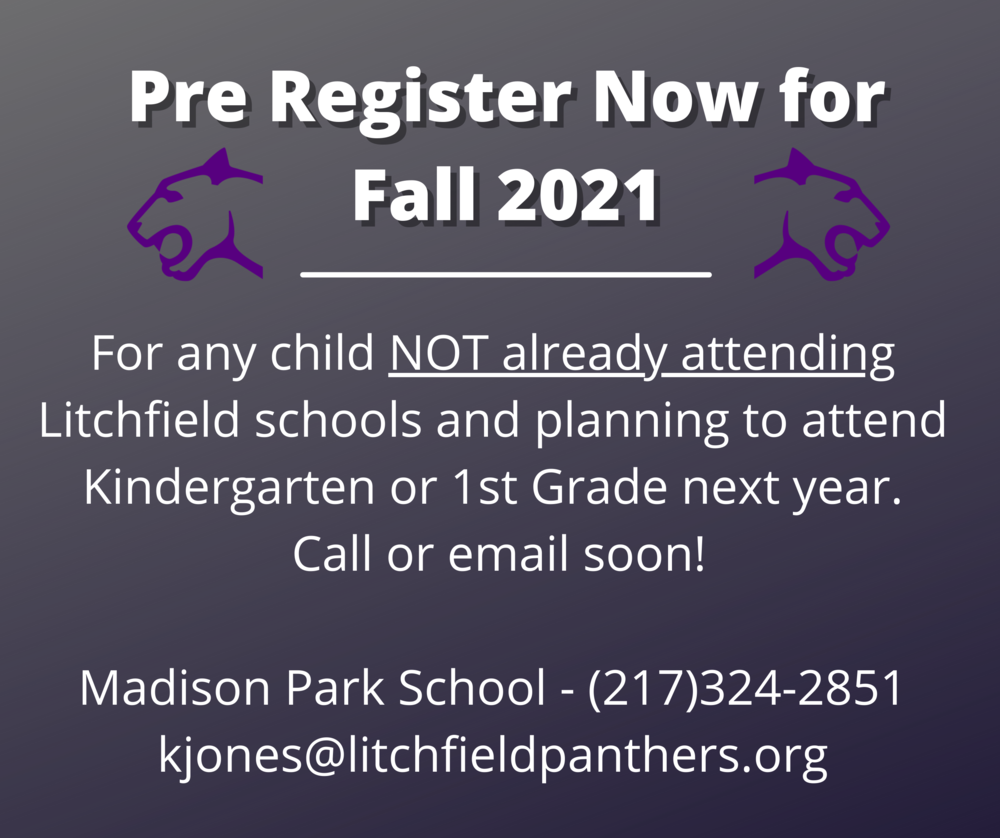 Pre Registration Open for Kindergarten / 1st Grade