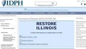 Illinois Department of Public Health Publishes Restore Illinois Guidelines