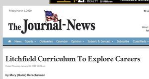 Journal News Reports on Litchfield Career Education Initiatives