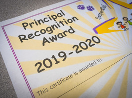 Principal Recognition Awards at Madison Park