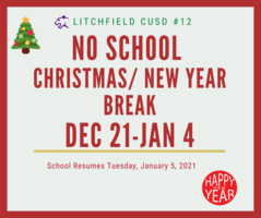 Holiday Break Dates for Litchfield Schools