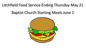 Litchfield Schools Food Service Ending - Baptist Church Summer Free Lunch Starting
