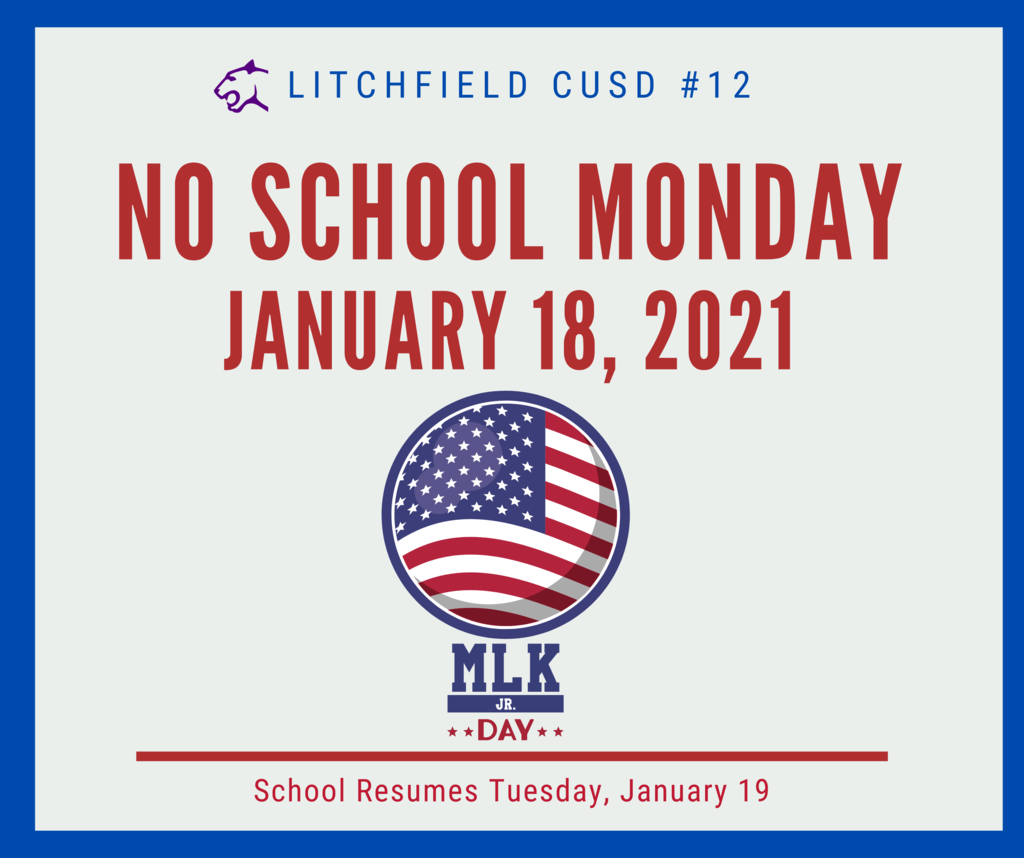 NO SCHOOL - MLK Graphic