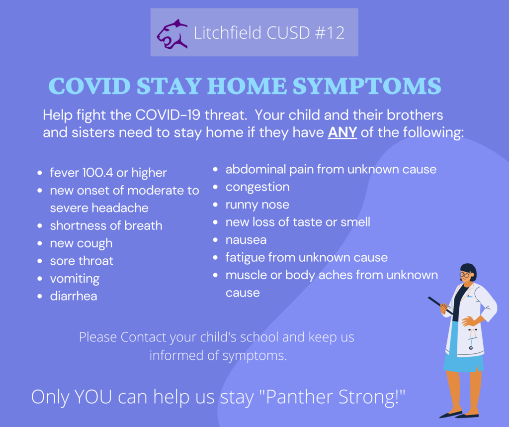 Stay Home Symptoms Chart