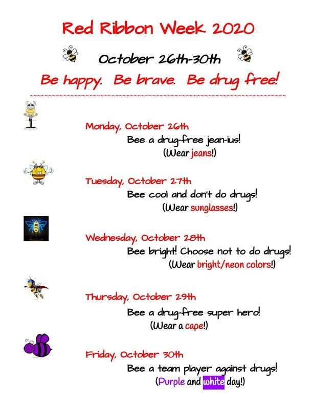 Elementary & Middle School Red Ribbon Week